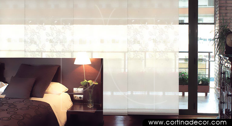 Foto paneles japoneses bordados stabia