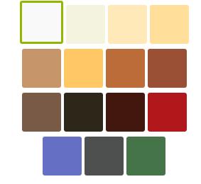 Colores Cortinas Plisadas Basics