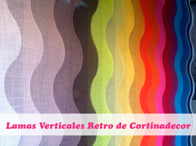 cortinas verticales retro de cortinadecor