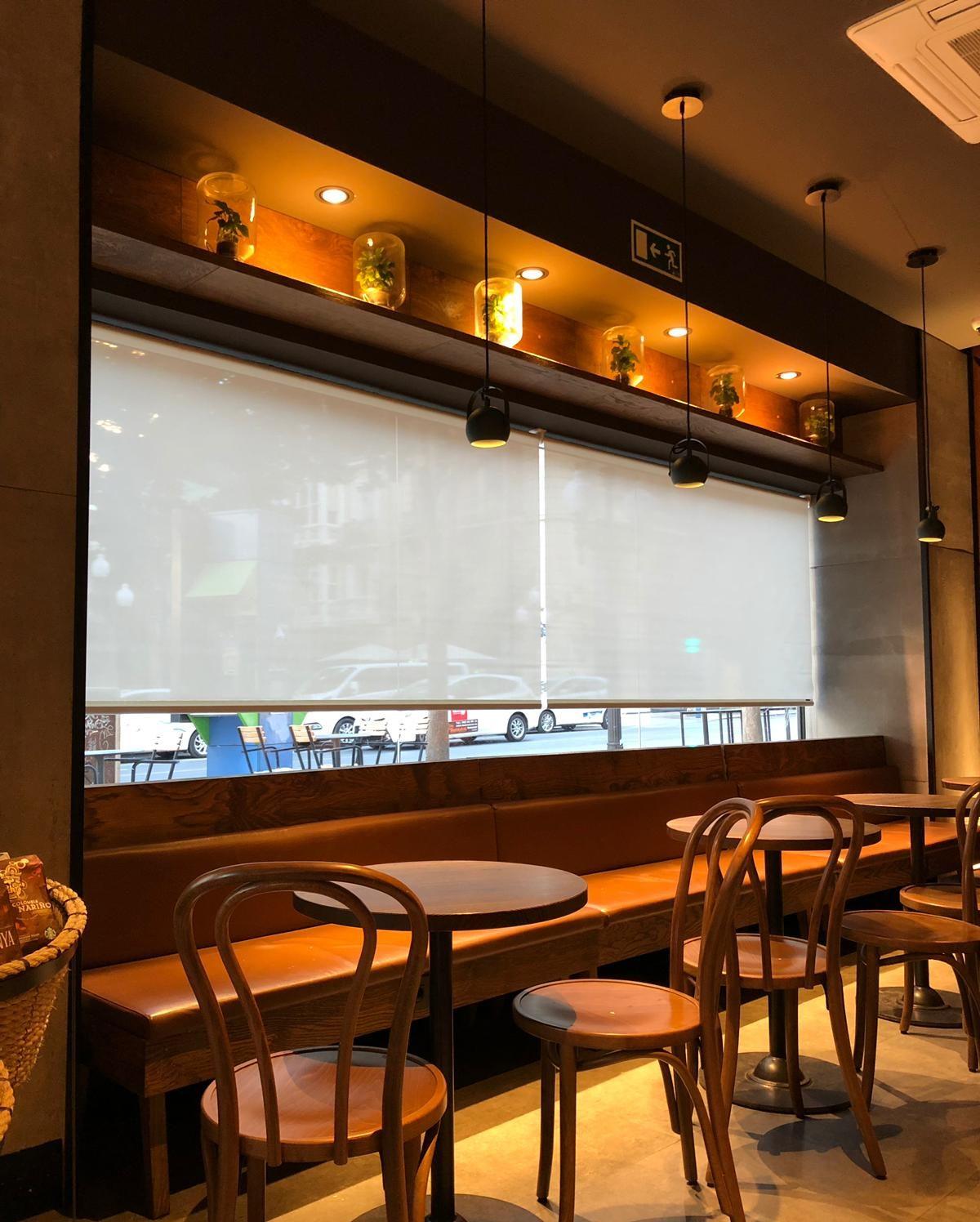 Starbucks y Cortinadecor